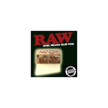 12 Rouleaux Raw rolls non blanchi