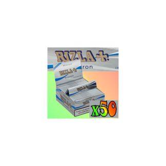 50 paquets de feuilles a rouler Rizla Micron
