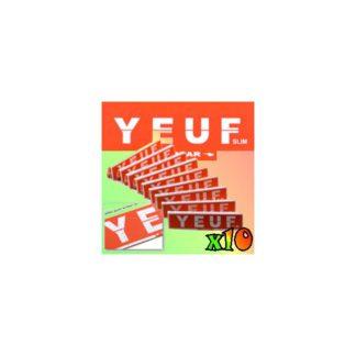 10 paquets de feuilles a rouler YEUF Slim