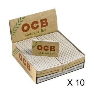 OCB Chanvre bio par 10
