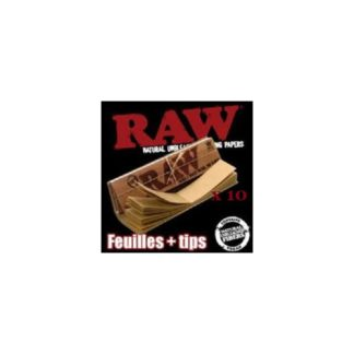 RAW Slim + Tips par 10