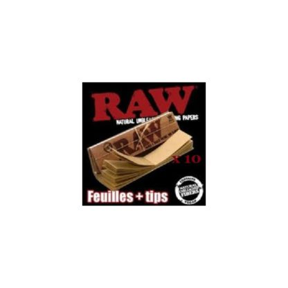 RAW Slim + Tips par 10