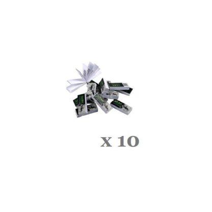 10 paquets de filtres cartons JASS tips