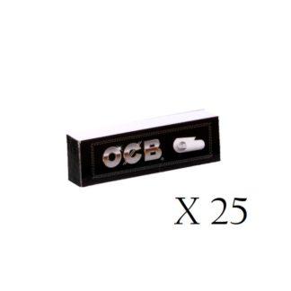 Filtres cartons OCB tips x 25 paquets